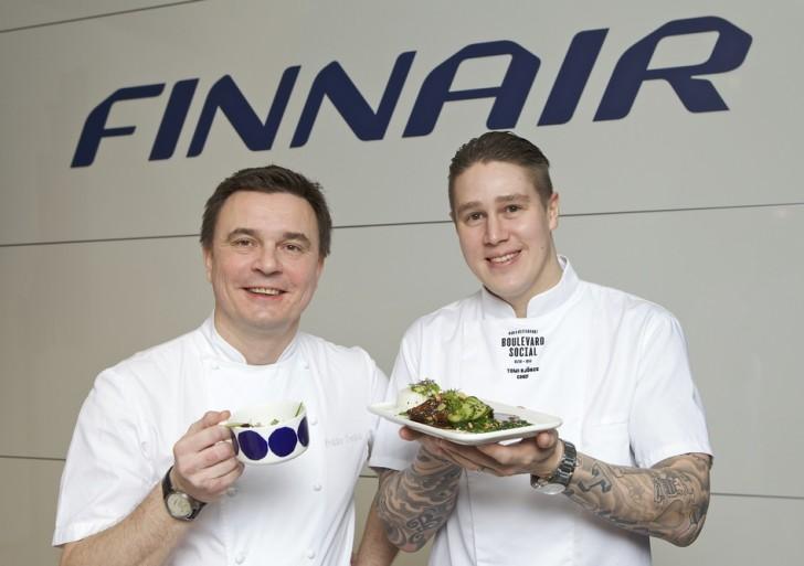 Najlepsi fińscy szefowie kuchni dla Finnair