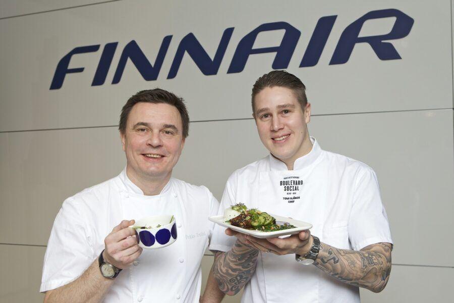 Finnair-gotowanie