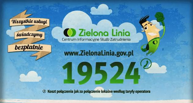 Zielona Linia - Twoje wsparcie na rynku pracy (VIDEO)