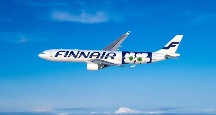 Finnair i Marimekko