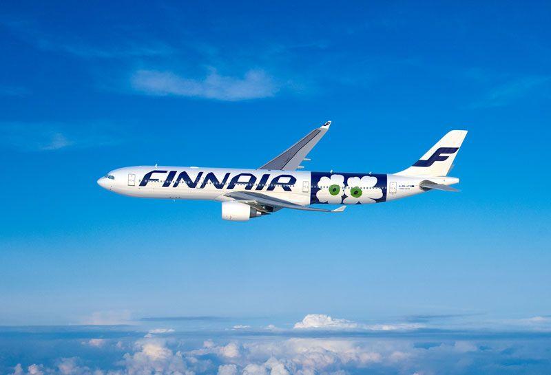 Finnair-i-Marimekko