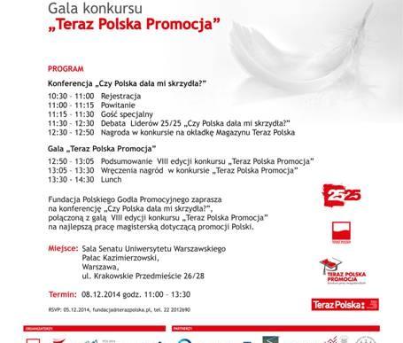 Teraz Polska Promocja – gala