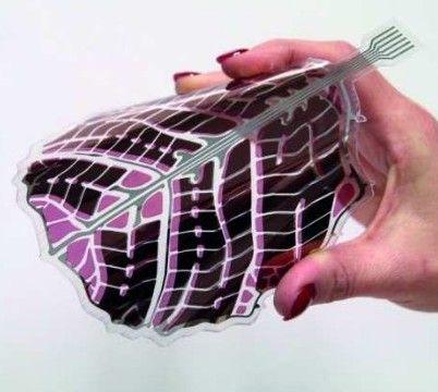 Elastyczne panele słoneczne – masowa produkcja w Finlandii