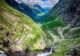 Sam Gerianger nazywany jest klejnotem w koronie fiordów Norwegii