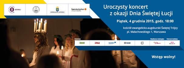 Szwedzkie święto światła w Polsce