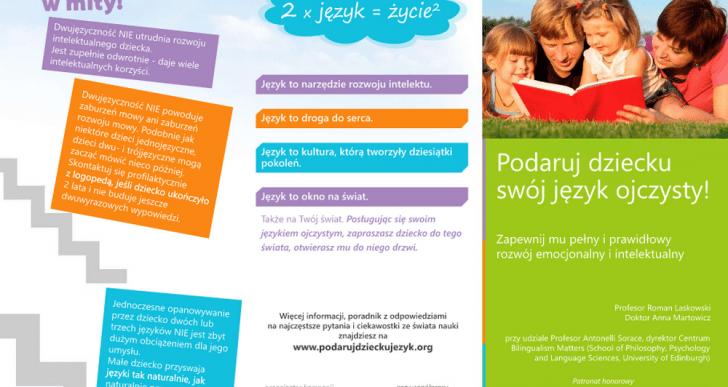 Podaruj dziecku swój język ojczysty w Skandynawii