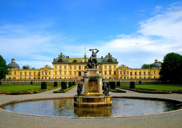 Pałac Drottningholm w Szwecji