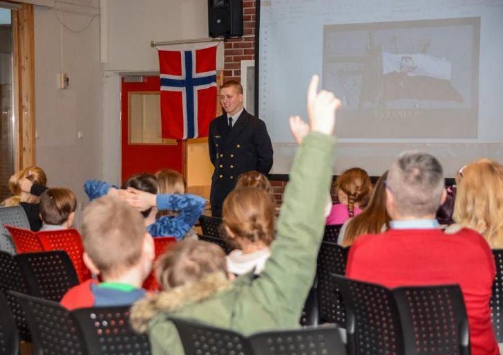 Załoga ORP na ćwiczeniach w norweskich fiordach