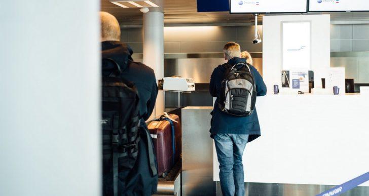 Rozpoznawanie twarzy podczas odprawy na lotnisku