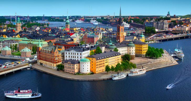 Pociągiem po Szwecji